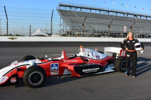 Racing with the Indy Racing Experience at the IMS