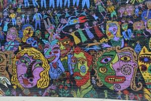 Public art in downtown Charleston, WV